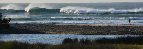 A surfing holiday base camp
